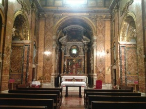 Chapel at the Casa Santa Maria