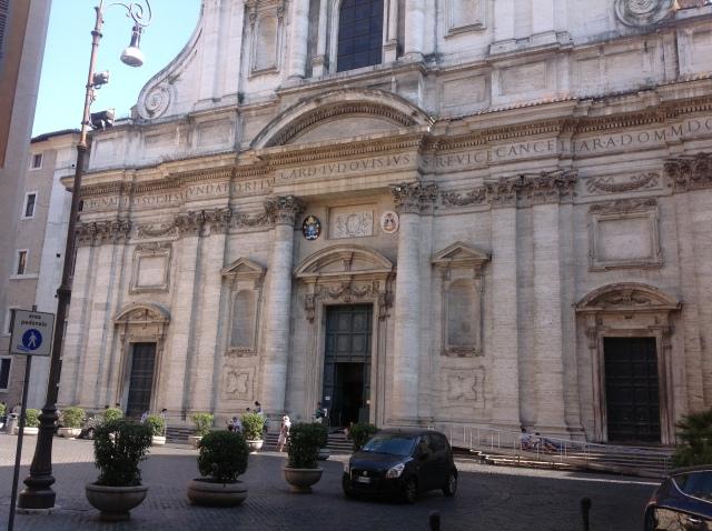 Facade of San Ignacio