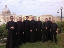 Some of the men in my Circle for priests